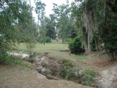 MacIntyre Park, Main course, Hole 7 Long approach