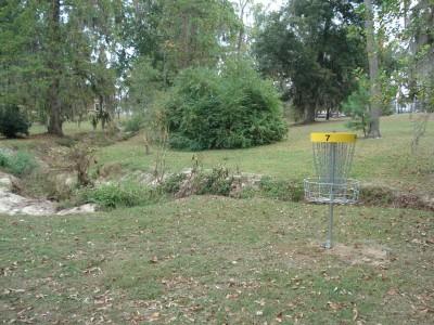 MacIntyre Park, Main course, Hole 7 Putt