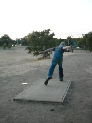John Mackey Park, Main course, Hole 4 Tee pad