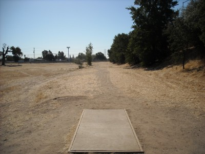 John Mackey Park, Main course, Hole 2 Tee pad
