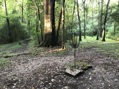 Acadiana Park, Duzee, Hole 8 Reverse (back up the fairway)