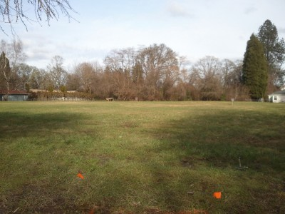 Bentley Field / P.O.M.A.P., Main course, Hole 17 Tee pad