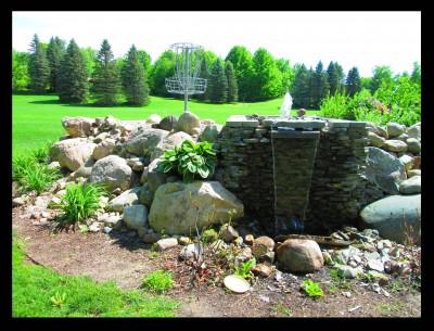 Burchfield Park, Devil's Den, Hole 18 Alternate pin (reverse)