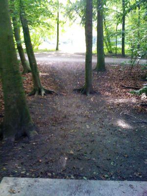 Sloterpark, Main course, Hole 12 Tee pad
