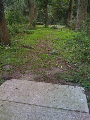 Sloterpark, Main course, Hole 1 Tee pad