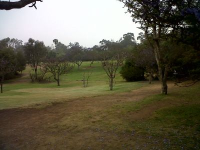 Morley Field, Main course, Hole 4 Tee pad