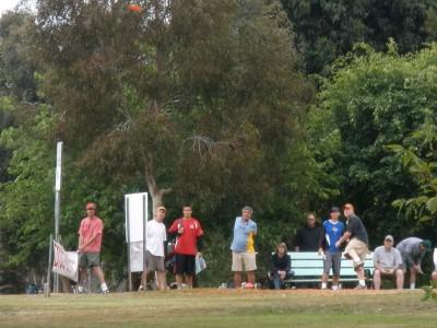 Morley Field, Main course, Hole 1 Tee pad