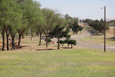 Coleman Park, Main course, Hole 7 Short tee pad