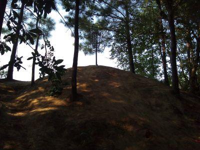Tatum Park, Tatum Trails DGC, Hole 6 Tee pad