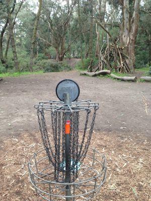 Golden Gate Park, Main course, Hole 9 Reverse (back up the fairway)