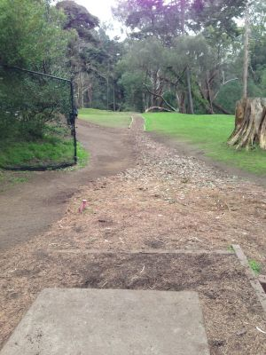 Golden Gate Park, Main course, Hole 7 Tee pad