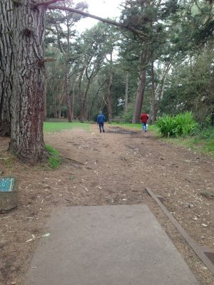 Golden Gate Park, Main course, Hole 3 Tee pad