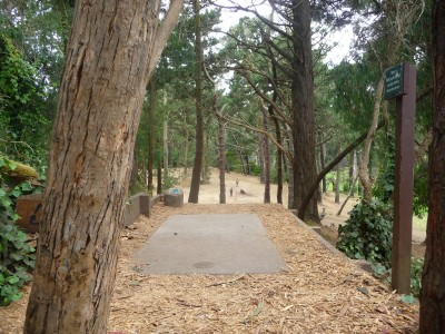 Golden Gate Park, Main course, Hole 15 Tee pad
