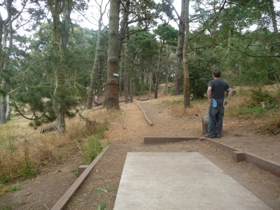 Golden Gate Park, Main course, Hole 16 Tee pad