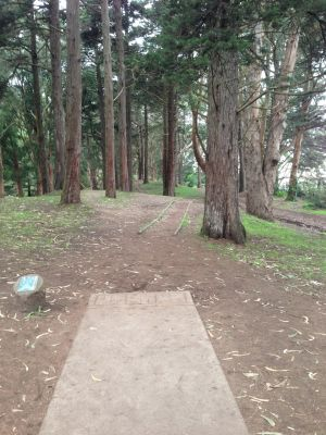 Golden Gate Park, Main course, Hole 5 Tee pad