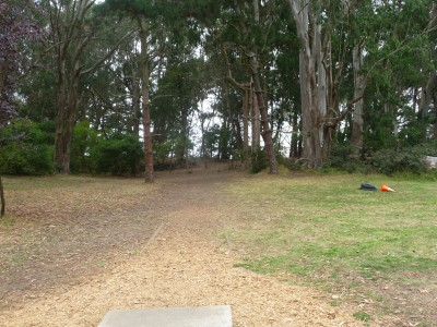 Golden Gate Park, Main course, Hole 1 Tee pad