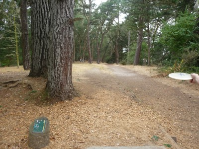 Golden Gate Park, Main course, Hole 3 Tee pad