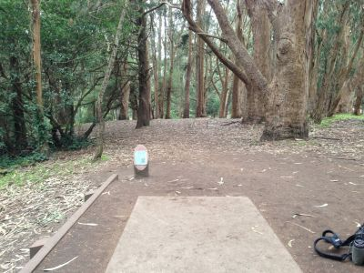 Golden Gate Park, Main course, Hole 4 Tee pad