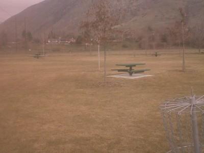 Arts Park, Main course, Hole 3 Reverse (back up the fairway)