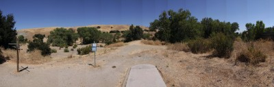 Coyote Creek @ Hellyer Park, Main course, Hole 1 Long tee pad