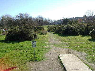 Coyote Creek @ Hellyer Park, Main course, Hole 9 Long tee pad