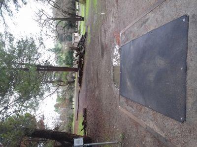 Parque De La Raza, Main course, Hole 4 Tee pad