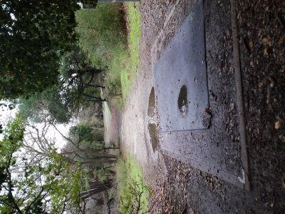 Parque De La Raza, Main course, Hole 6 Tee pad