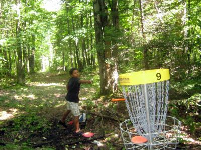 Mont Ham, Main course, Hole 9 Putt