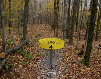 Mont Ham, Main course, Hole 4 Reverse (back up the fairway)
