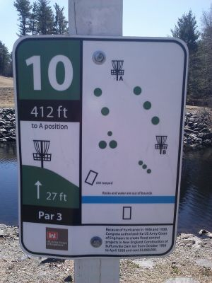 Buffumville Lake, Long Course, Hole 10