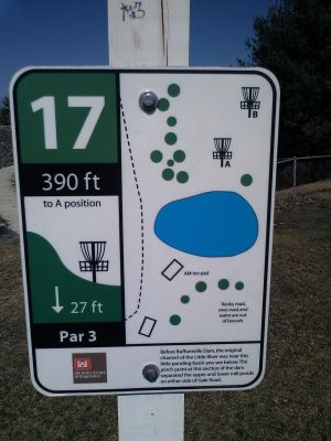 Buffumville Lake, Long Course, Hole 17