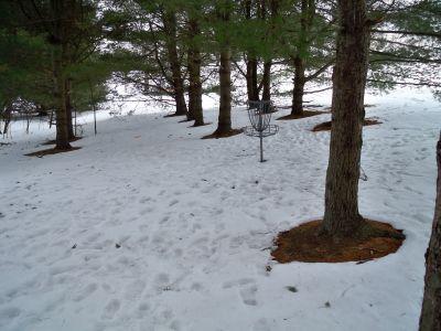 Buffumville Lake, Short Course, Hole 8 Putt