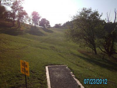 Dorsey's Knob DGC, Main course, Hole 6
