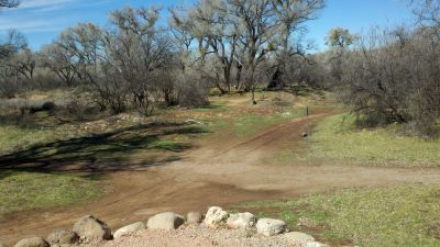 Cottonwood Riverfront Park, Main course, Hole 3 Tee pad