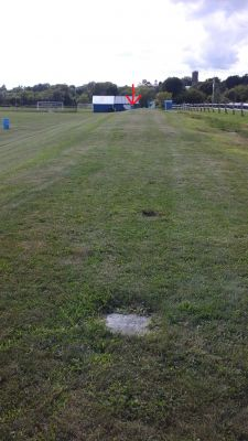 Vergennes Union High School, Main course, Hole 17 Tee pad