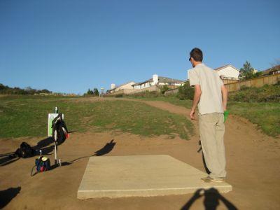 Montiel Park, Main course, Hole 3 Short tee pad