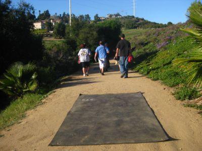 Montiel Park, Main course, Hole 2 Long tee pad