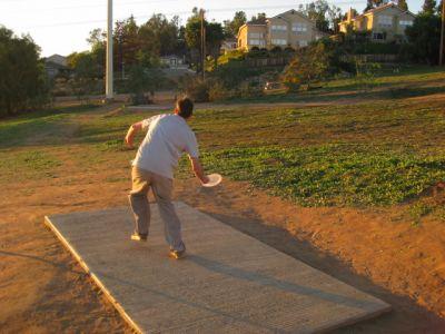 Montiel Park, Main course, Hole 4 Short tee pad