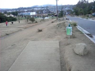 Montiel Park, Main course, Hole 9 Tee pad