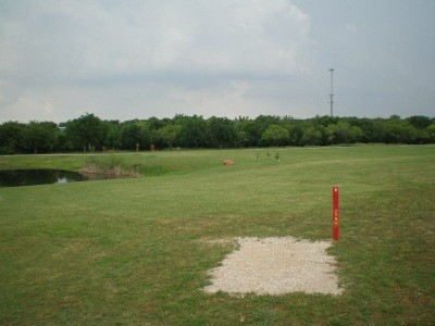 TCC Southeast Campus, Main course, Hole 3 Tee pad