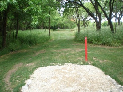 TCC Southeast Campus, Main course, Hole 6 Tee pad