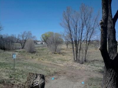 New Mexico Highlands University, Main course, Hole 14 Long tee pad