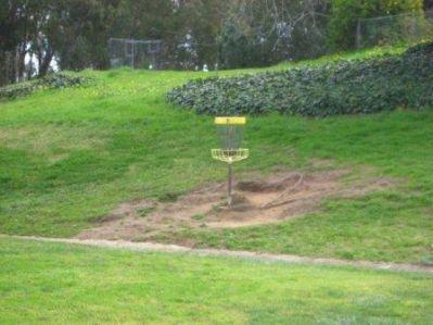 Evergreen Open Space, Main course, Hole 4 Putt