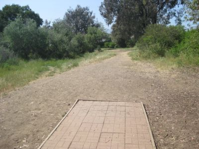 Evergreen Open Space, Main course, Hole 18 Tee pad