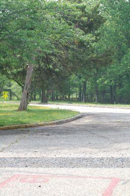 John G. Lancaster Park, Hot Shots DGC, Hole 1 Short tee pad