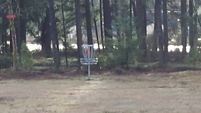 Shelton Springs DGC, Main course, Hole 7 Short approach