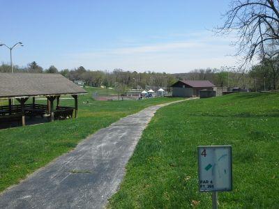Roberts Park, Cabool Bulldog DGC, Hole 4