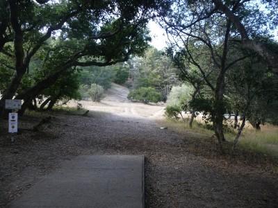 DeLaveaga Park, Main course, Hole 25 Tee pad