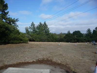 DeLaveaga Park, Main course, Hole 23 Tee pad