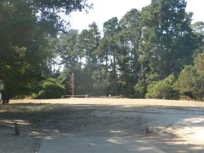 DeLaveaga Park, Main course, Hole 17 Tee pad